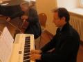 Pianist  Benjamin Stiehlau und Cellist Cornelius Herrmann
