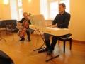 Wunderbares Programm mit Cornelius Herrmann und Benjamin Stiehlau aus Gera