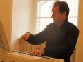 Benjamin Stiehlau am E-Piano