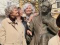 Marianske Lazne - Marienbad  Am Goethedenkmal