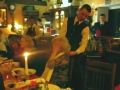 Lätzchen sind Mode - Marienbad -  abends in  der   Goldenen Kugel