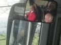 Spiegelungen im Bus