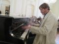 spontanes Konzert im Schloss Teplice