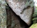 Im Felsenlabyrinth -  auch hier war Goethe