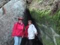 Felsenlabyrinth Wunsiedel - passt schon