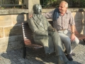 Ilmenau Am Goethe-Denkmal