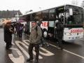 Gotha-Fahrt - wir trotzen der Kälte und dem Regen