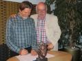 Dieter Schumann (links) wurde zum Geschäftsführer gewählt, Bernd Kemter zum Vorsitzenden
