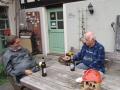 Vorstandsgespräch beim Bierchen