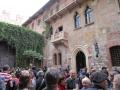 Verona am Haus von Julia