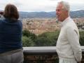 hoch über Florenz