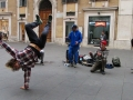 Rom Straßenkünstler