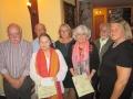 Die Preisträger beim Literaturwettstreit