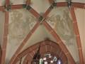 Gewölbe in der  Kirche Neutadt/Orla