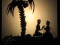 Schattentheater Szene aus Siddharta