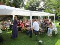 Cora Chilcott in Schillers Garten mit Erlkönigs Töchter
