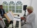 Musik und Gesang zu Goethes Geburtstag in Schiller Garten in Jena