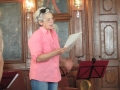 Schauspielerin Otti Planerer rezitiert Goethe-Briefe