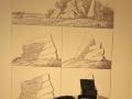 Goethes Skizzen zur Entstehung von Felsformationen