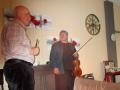 Bernd dankt Cat für das tolle Konzert